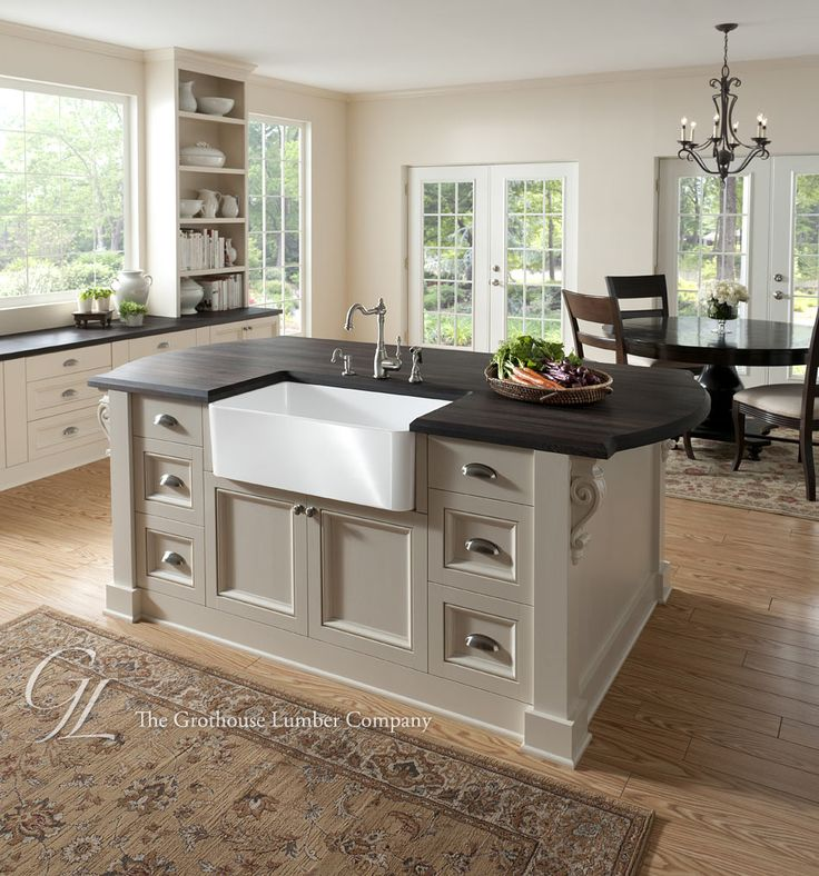 Kitchen Counter With Sink: 59 Best Ideas About Wood Countertops On Pinterest