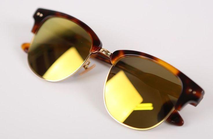 "Limelight Korean Eyewear Fashionable Wearable Sunglasses ""Yoda C BL"" Brown   eBay"