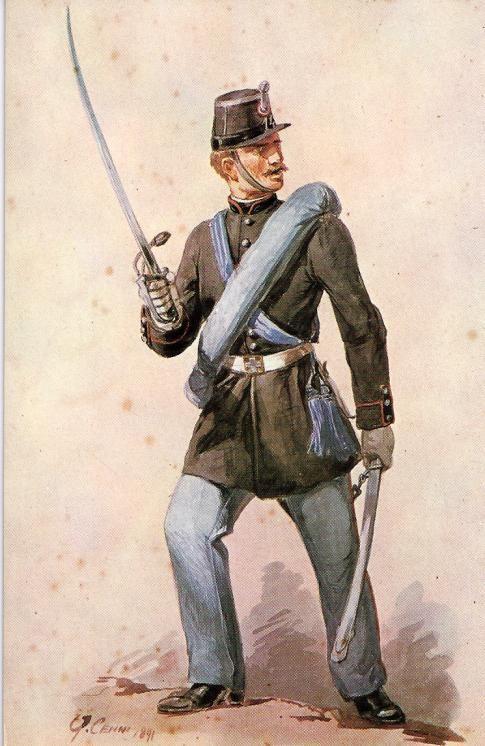 Regio Esercito - Sottotenente della Brigata Pinerolo