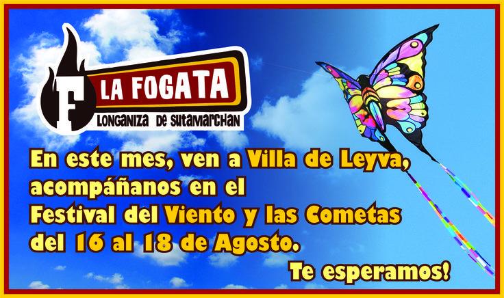 Fecha: Del 17 al 19 de agosto de 2013, XXXVIII Festival Nacional del Viento y las Cometas
