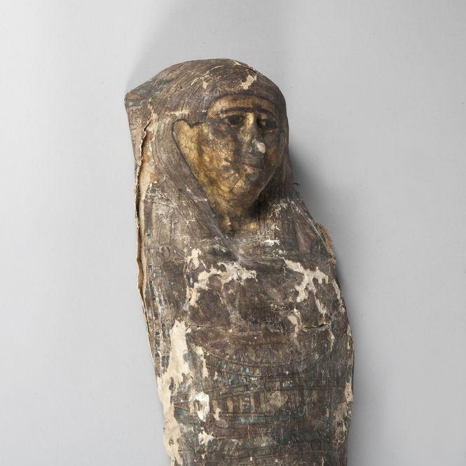Sarcophage d'enfant. Egypte, époque Romaine