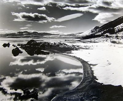 Mono Lake, 1955. Brett Weston