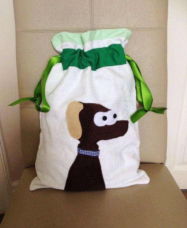 Dog Applique PE Bag £13.00