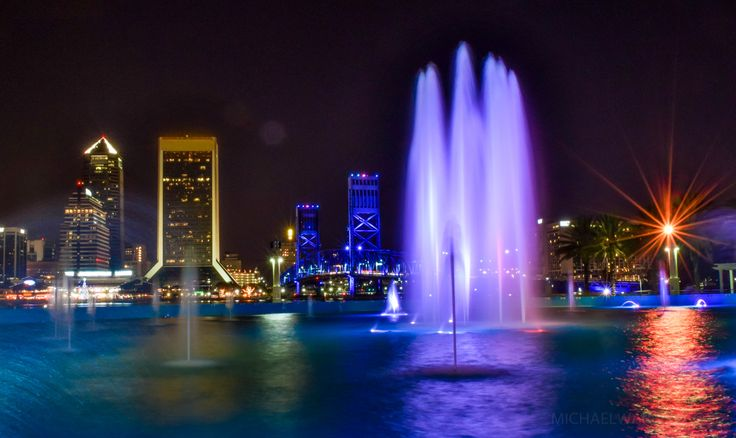 Jacksonville's skyline looms dramatically over the St. Johns River. The tallest building, at 617 feet, is the Bank of America tower. Together the city has 21 buildings that exceed 230 feet. One of the best places to enjoy the view is from the vicinity of Friendship Park with its delightful dancing fountains. Other nearby options include the Museum of Science and History, the Doubletree Hotel, and the River City Brewing Company. A quick water taxi ride crosses the river to Jacksonville…