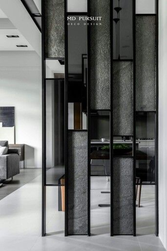 Wall Partition Could Be Replicated As A Accent Wall Design.