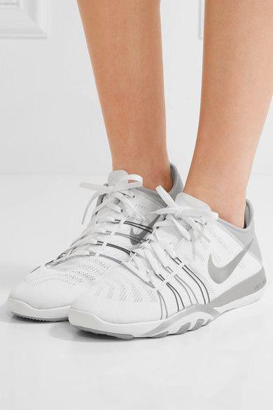 Nike - Free Tr 6 Mesh And Neoprene Sneakers - White - US