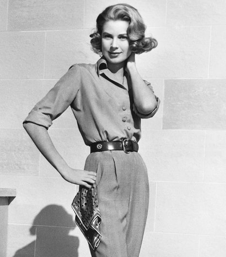 Get Grace Kelly's timeless, ladylike style // #Fashion #Icons #Style
