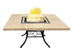 Unique table styled Vioflame fireplace #solair