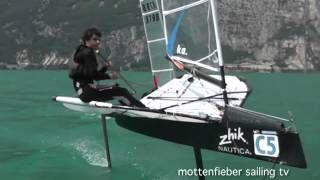 moth sailing - YouTube