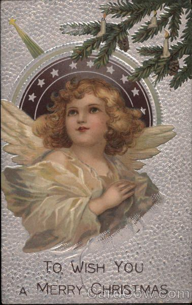 Merry Christmas Wishes, with Angel To Wish you a Merry Christmas