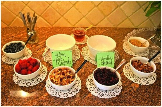 {BRUNCH IDEA} YOGURT BAR Fab Themes for {Jewelry Bars}! www.AndiTilly.OrigamiOwl.com/Hostess www.FB.com/MyStoryInALocket