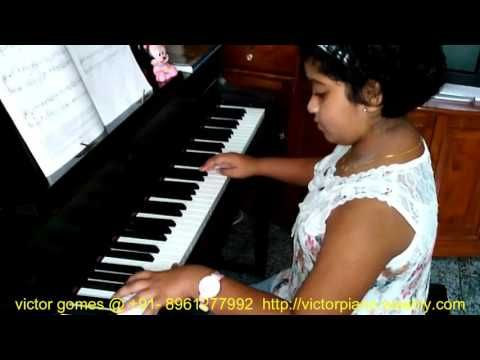 "Pracheta playing ABRSM grade 3 piece B:1 ""STORMY COAST"" by Walter B Carroll - YouTube"