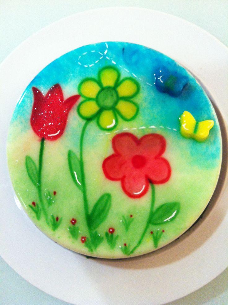25 best gelatina de molde pintada images on pinterest - Moldes para gelatina ...