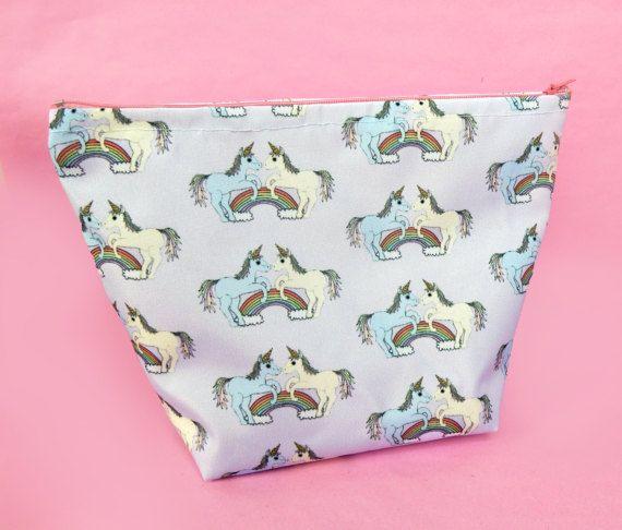 Unicorn wash bag  large unicorn toiletries bag  unicorn gift