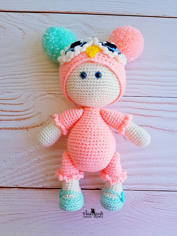 Crochet Amigurumi Doll Little Princess Sally Pattern (PDF in ... | 800x600