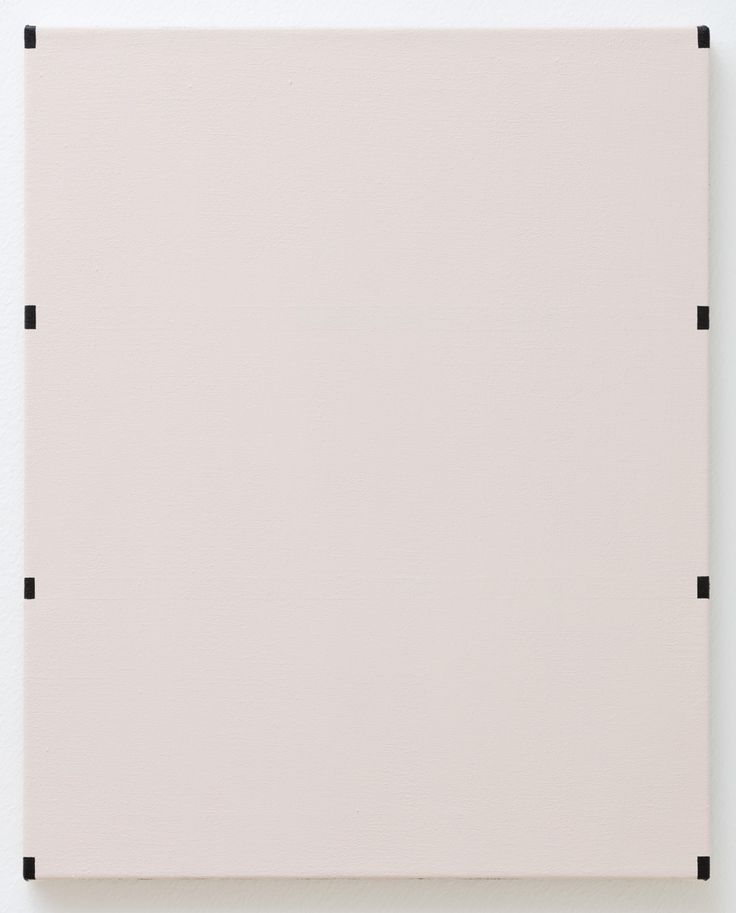 Untitled (4 lines removed) acrylic and latex on canvas 16x20 inches 2015