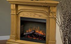 Awesome Oak Corner Electric Fireplace Gallery