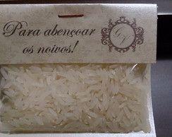 Lagrimas de alegria + Saquinho de arroz