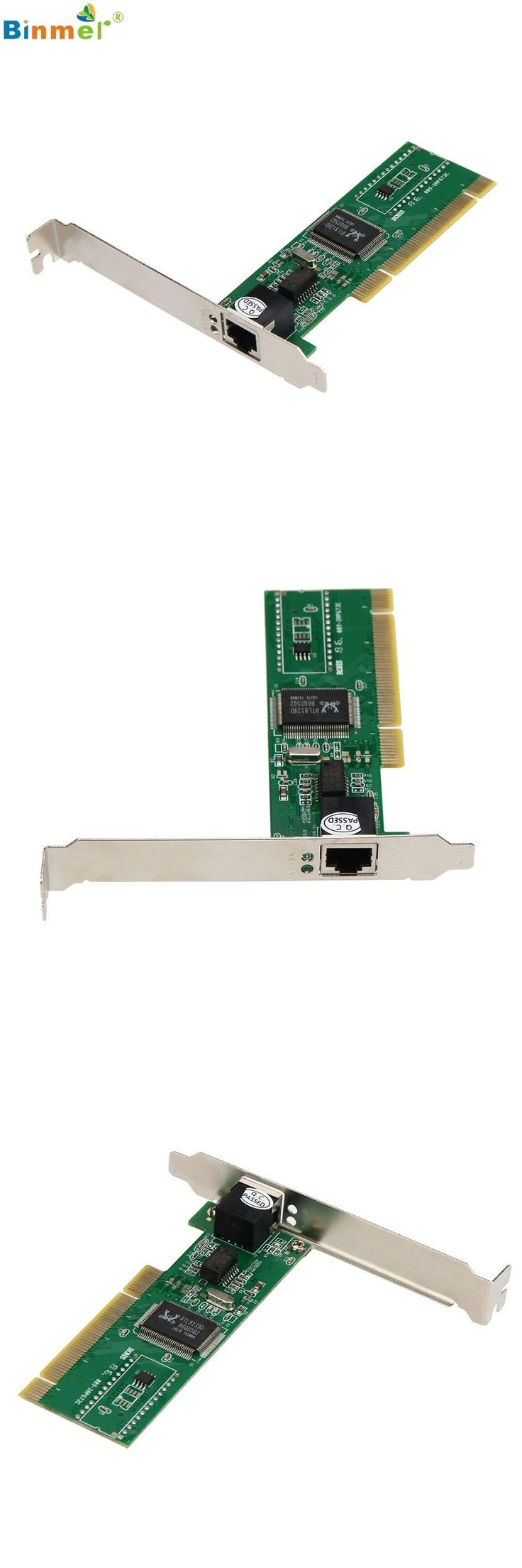 [Visit to Buy] Adroit New 10/100 Mbps NIC RJ45 RTL8139D LAN Network PCI Card Adapter for Computer PC MAR30 #Advertisement