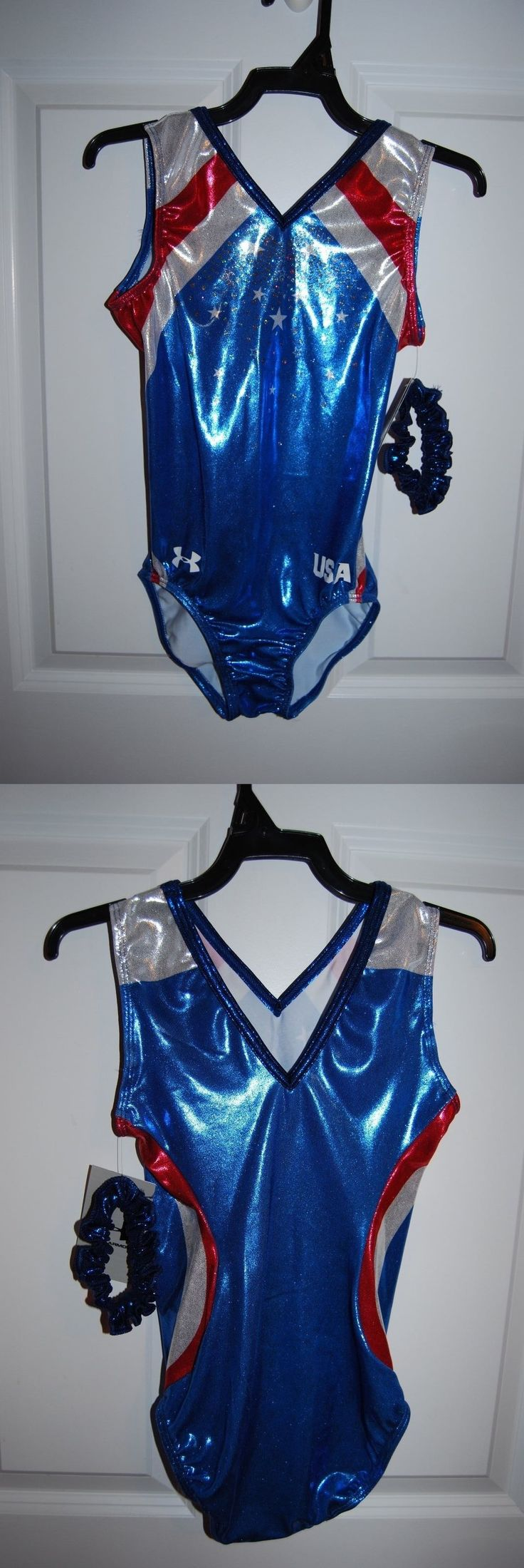 Youth 159170: Gk Elite Gymnastics Leotard - Under Armour - Adult Large - Noble -> BUY IT NOW ONLY: $49.95 on eBay!