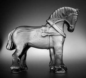 Bergdala glass horse