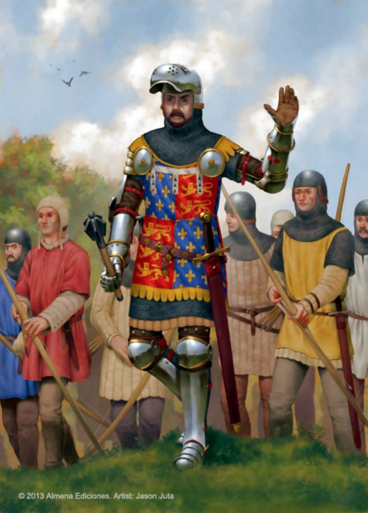 Juan De Gante (John of Gaunt) at the battle of Najera