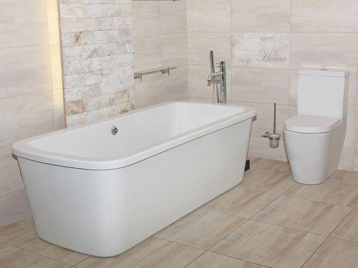 White Concorde Bath freestanding bath | CTM
