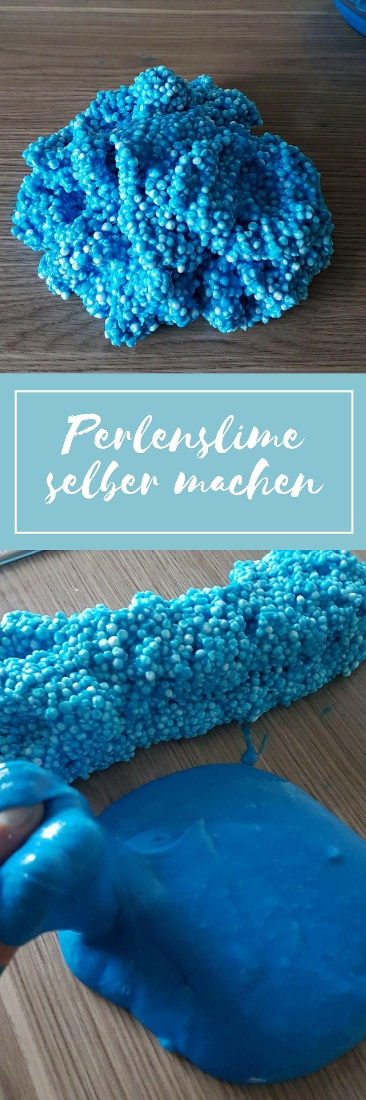 DIY Slime: Perlenschleim (Floam) selber machen