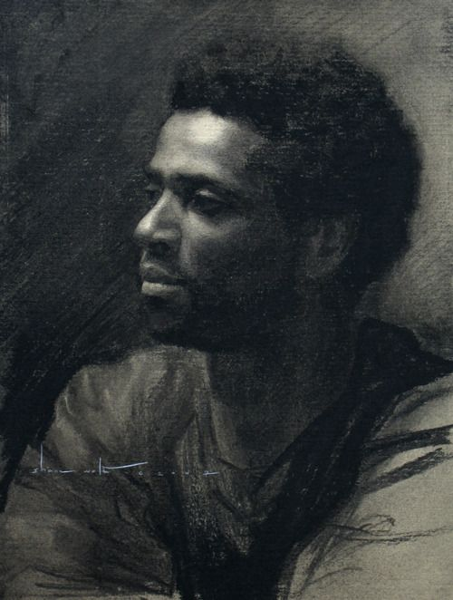 Portrait Drawing Study by Shane Wolf