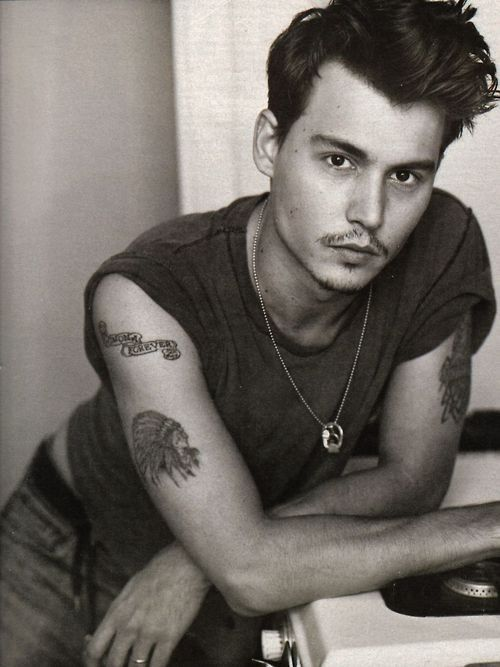 Herb Ritts, Johnny Depp