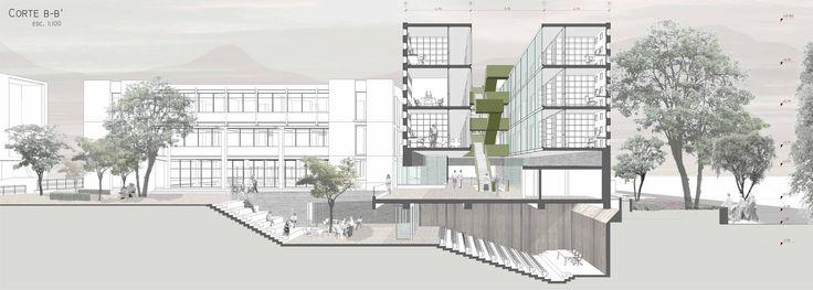 Ganadores Concurso Edificio Docente y de Investigación Escuela de Arquitectura UC