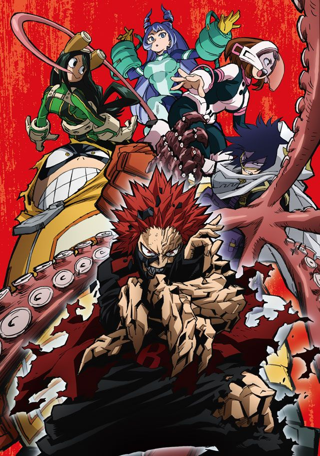 volume 4 2 anime cover ヒロアカ イラスト ヒーローアカデミア アニメ