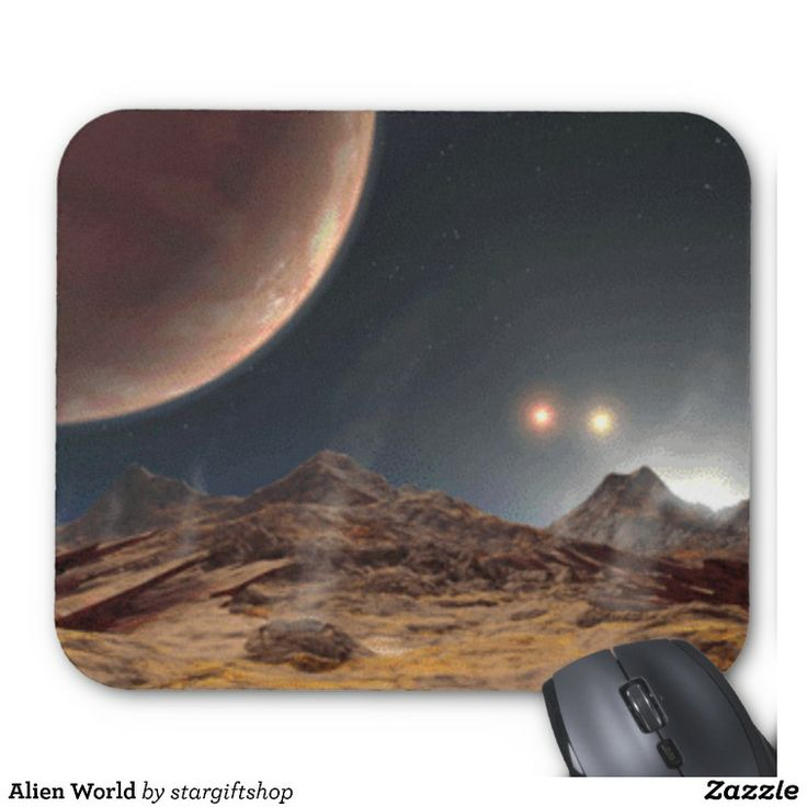 Alien World Mousemats