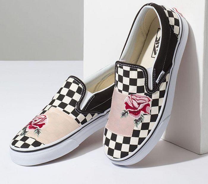 Shop Vans Classic Slip On Satin