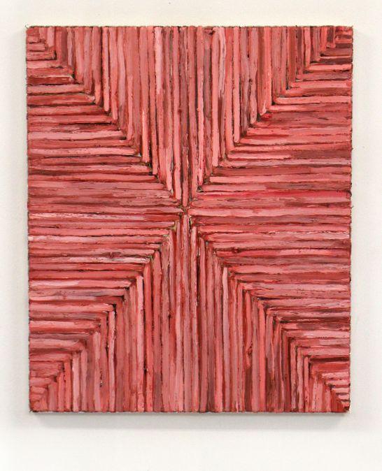 Paul de Jong Geen Titel  2016 Olie op doek 60 x 50 cm