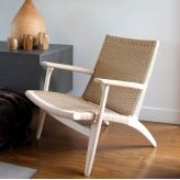 Roxanne Chair in European Oak and Danish Cord. Christmas in #htfstyle