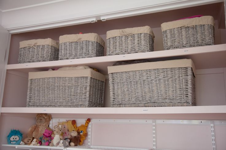 Small Grey Wicker Trunk (Lid removed) Code: PSK9503 Large Grey Whicker Baskets Code: PSK9514.  Available at Howards Storage World