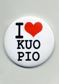 I Love Kuopio lapel button.
