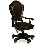 Goodwin Ebony Home Office Desk Chair