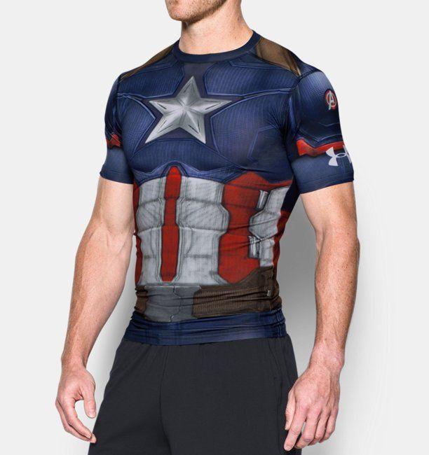 81f7a1f848c70 Playera de Compresión Under Armour® Transform Yourself Capitán América para  Hombre 879