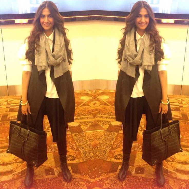 Sonam Kapoor shows us how to layer #Outfitideas