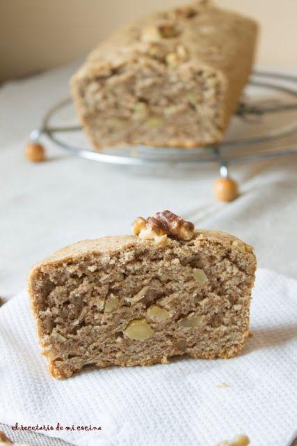 Pan de espelta con nueces. 2 levados