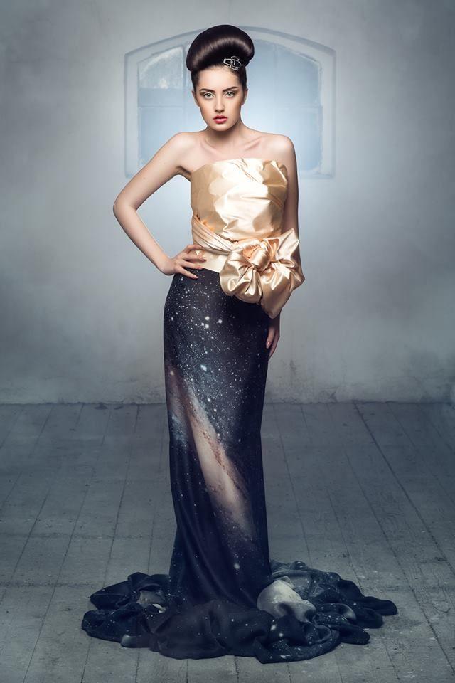Photography: Daniel Ilinca - idaniphotography Make-up: Mirela Fazakas Hairstyle: Alina Maria Crisan - ACHA Outfit: Anca Crisan Model: Teo Dora Location: Moara Rasarit