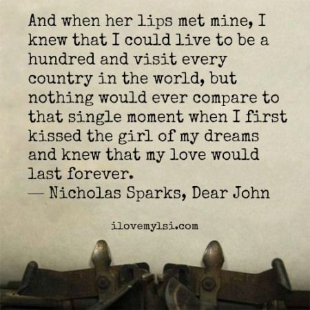 The 25 Most Romantic Love Quotes You Will Ever Read. | I Love My LSI
