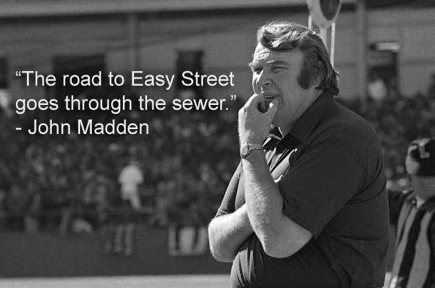 John Madden: knows the sport of football
