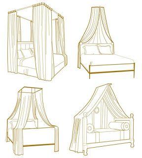 Interior Decline: my room project: DIY canopy