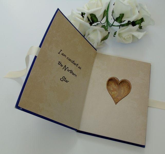 Wedding Ring Box Hollow Book - Shakespeare Julius Caesar £25.00