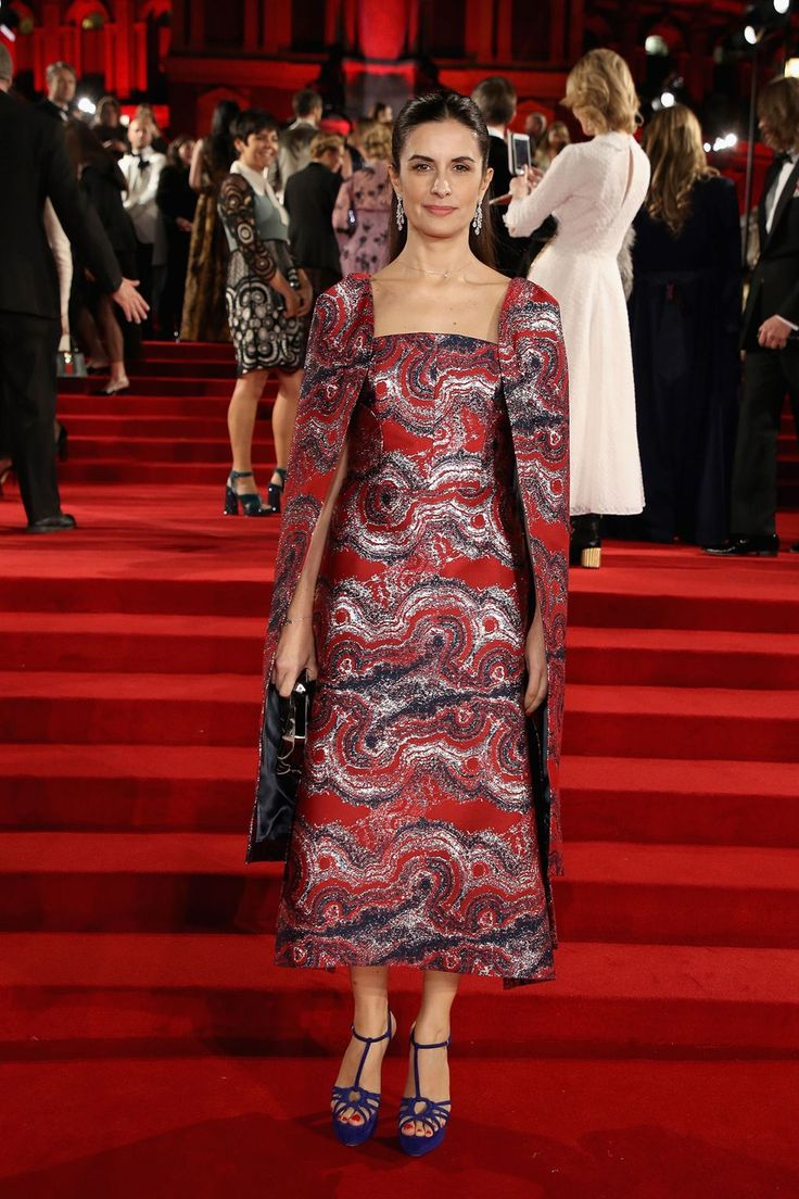 Livia Firth in Osman for the Green Carpet Challenge and Chopard.
