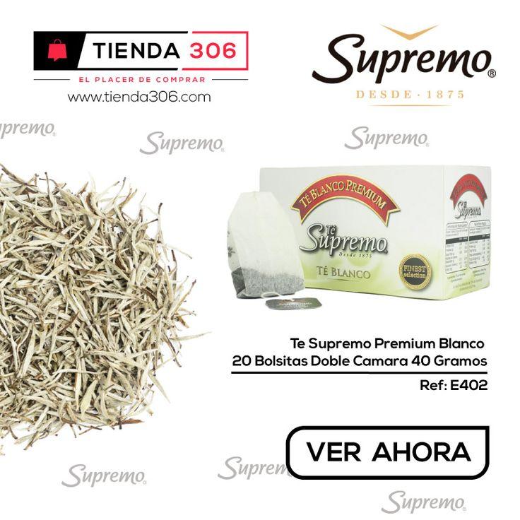Estimula las Defensas y el Funcionamiento mental - Té Supremo Premium Blanco Ref.: E402 📞 320 574 96 98 Ver Ahora: http://bit.ly/2jqXEO8