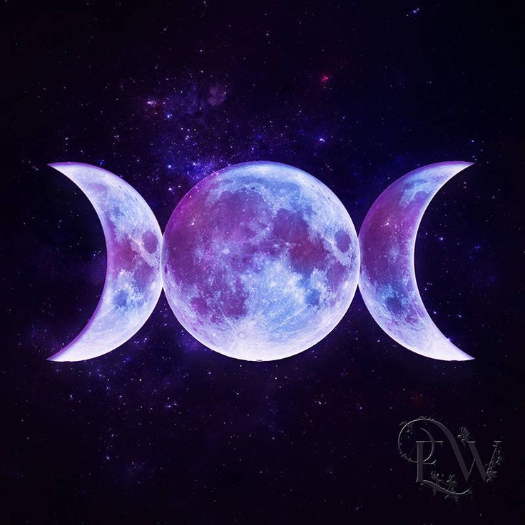Purple Aesthetic Wallpaper Moon